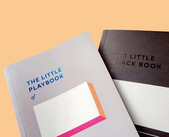 LITTLE BLACK BOOK & PLAYBOOK NOTEBOOK