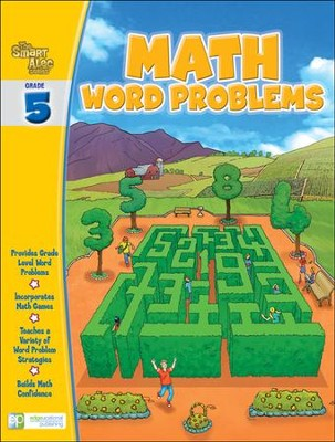 The Smart Alec Series: Math Word Problems Grade 5