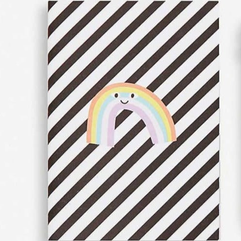 KIKKI.K A7 MINI NOTEBOOK - RAINBOW