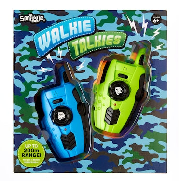 SMIGGLE WALKIE TALKIES (BLUE & PINK)