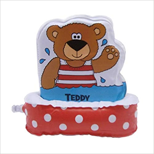Teddy & Frog Floatee Bathtime Bath Book