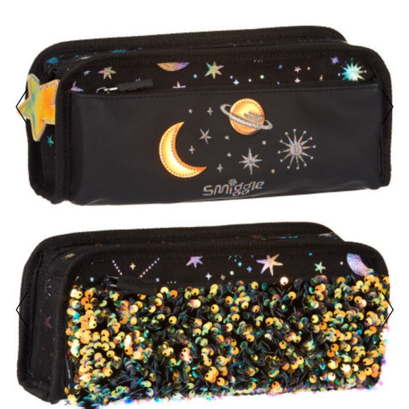 Smiggle Lunar Threefold Pencil Case