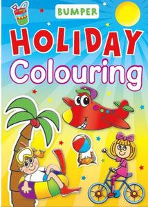 Bumper Holiday Colouring Book