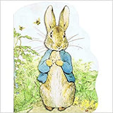 Peter Rabbit Oversized Board Book by Beatrix Potter