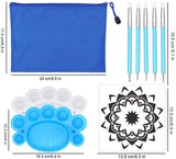Mandala Dotting Tools Stencil Set of 35 PCS