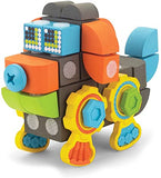 Velcro Blocks Construction Set Dog Robot