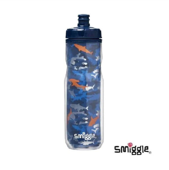 Authentic Smiggle On The Go Shark Water Bottle (660ml)