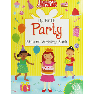 My First Party Sticker Activity Book