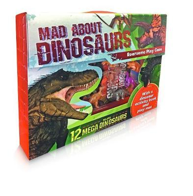 Mad About Dinosaurs Play Set with 12 MEGA Dinosaurs