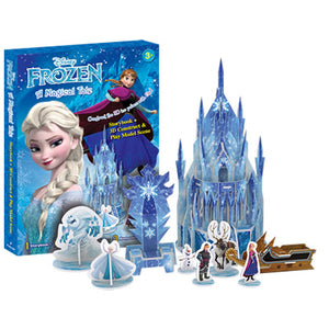Disney Frozen: A Magical Tale Storybook With 3D Construct & Play Model