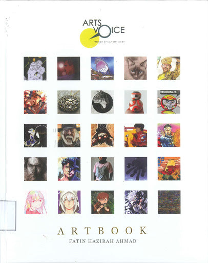 Arts Voice: Freedom of self-expression Artbook
