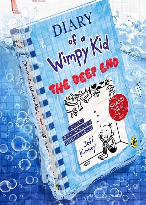 The Deep End (Diary of a Wimpy Kid #15) by Jeff Kinney