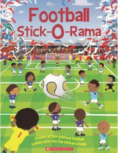 Football Stick-O-Rama : Over 250 stickers