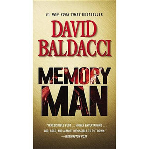 Memory Man by David Baldacci (Amos Decker #1)
