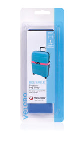 VELCRO® Brand Bright Luggage Bag Straps (7 Colors)