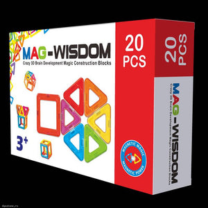 Mag-wisdom 3d Brain Development Magic Construction Blocks