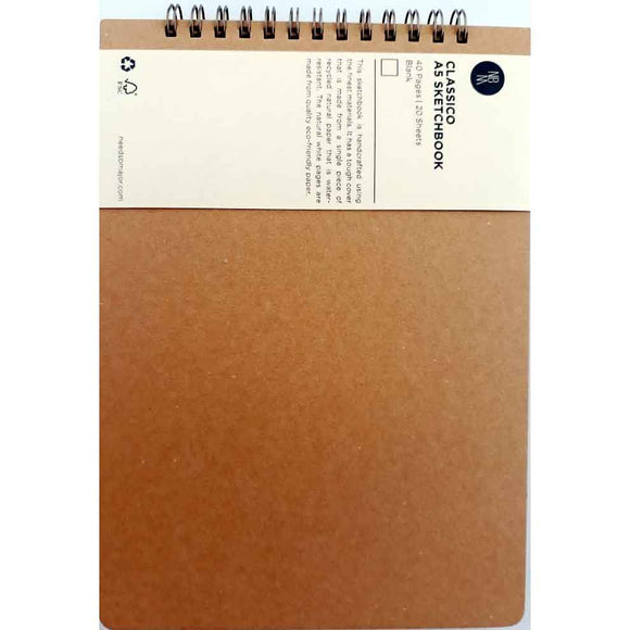 Needs B Major Classico A5 Sketchbook (Brown)