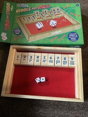 SMIGGLE GIGGLE AND ROLL shut the box game