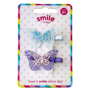 Smiggle: Smile Wings Hair Clips Pack X 2