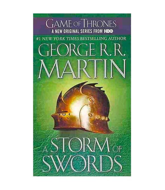 A Storm of Swords by George R.R. Martin (Book 3)