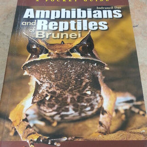 A Pocket Guide: Amphibians and Reptiles of Brunei by Indraneil Das