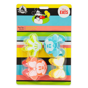 Disney Eats Mickey and Minnie Mouse Bag Clips Set