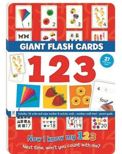 Giant Flashcards: 123 (Hinkler Books)