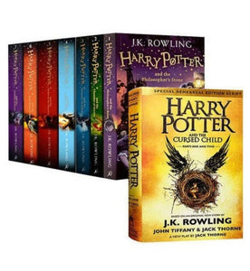 Harry Potter Series: Book 1 - 8