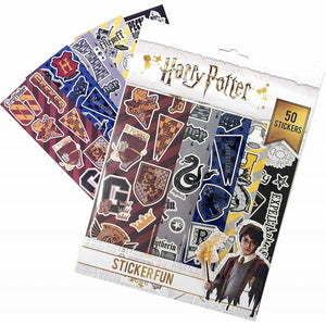 Harry Potter Gadget Decals 50pcs Re-usable Stickers