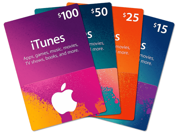 Apple iTunes Card USD5 - USD25