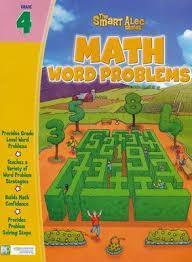 The Smart Alec Series: Math Word Problems Grade 4