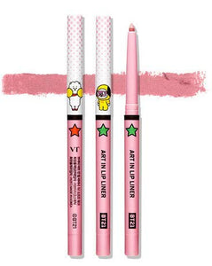 BTS BT21 VT ART IN LIP LINER 02 SOFT PINK
