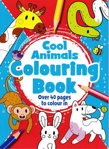 Cool Animals Colouring Book : Children's Home Activity
