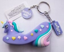 SMIGGLE: PURPLE UNICORN SHOE KEYRING