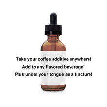Load image into Gallery viewer, Red Reishi Immunity/Brain Reboot Coffee Additive/Tincture (1 fl oz)