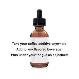 Red Reishi Immunity/Brain Reboot Coffee Additive/Tincture (1 fl oz)