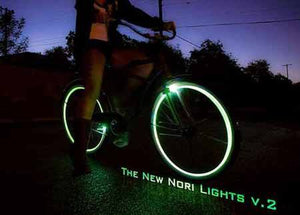 Nori Lights v.2 with 6mm Stripes (2 Wheel Kit) - Nori Lights