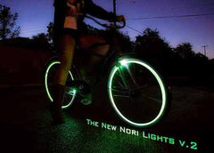 Nori Lights v.2 with 6mm Stripes (2 Wheel Kit) (BACK ORDER)