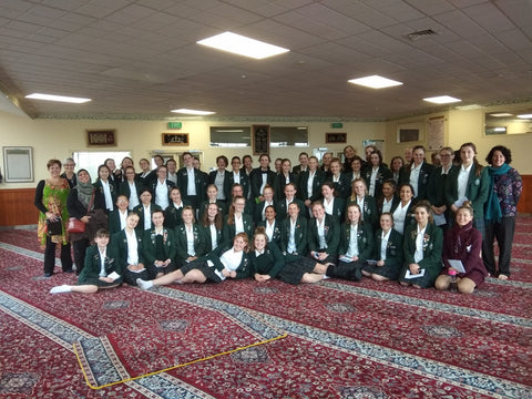 Hosting school visits to the Wellington Mosque