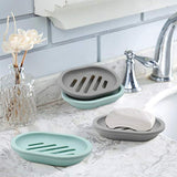 Soap Dish with Drain (2pk)