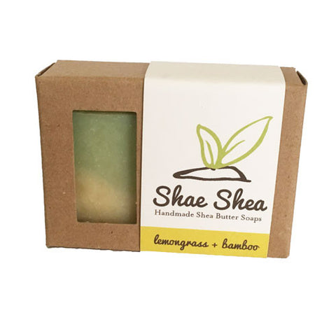 Lemongrass + Bamboo Shea Butter Soap