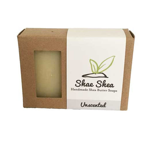 "Unscented Shea Butter ""Basic"" Soap"