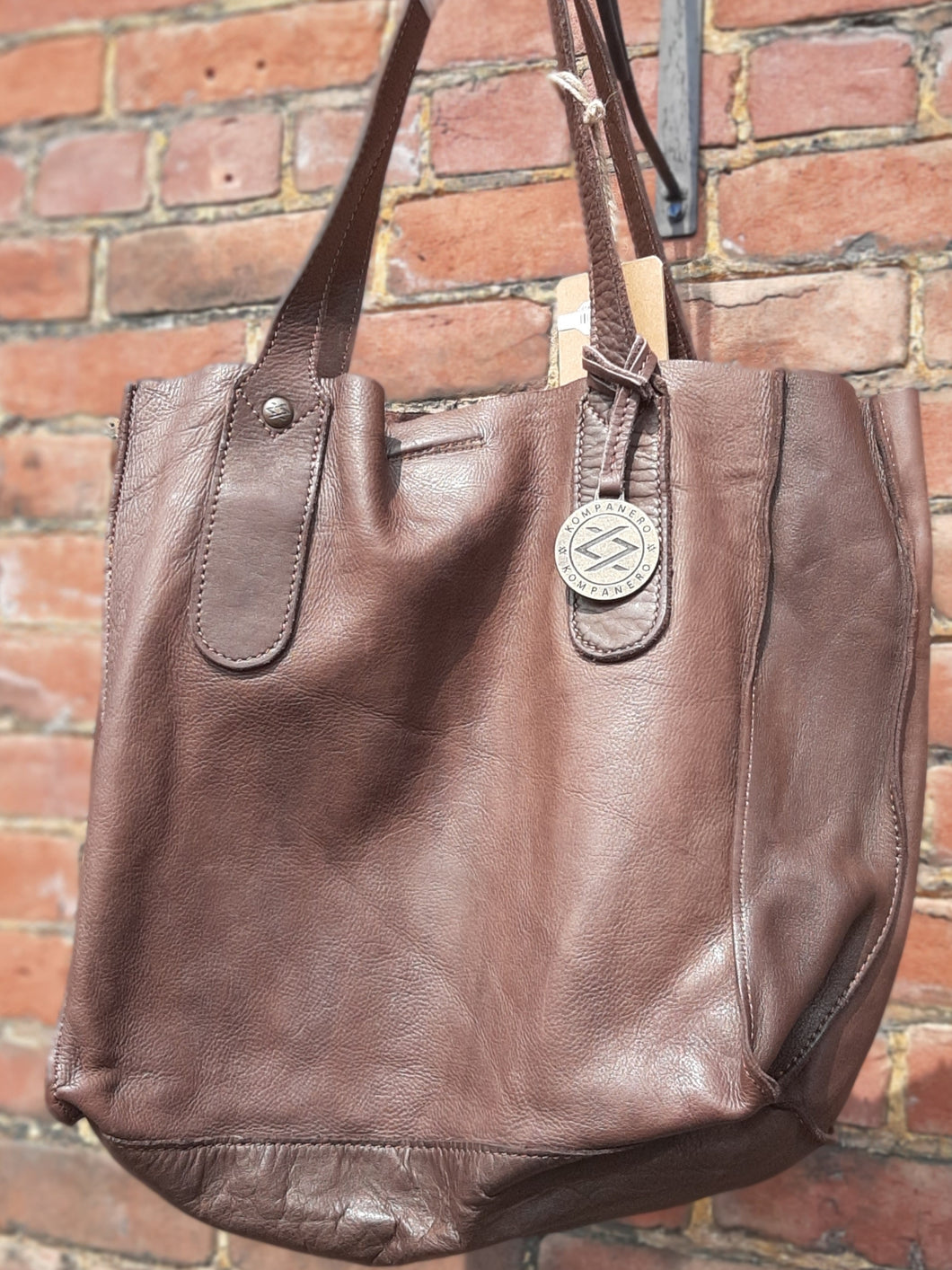 Kompanero Leather Hand Bag - Rachel
