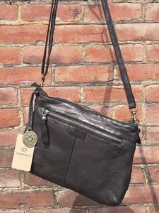 Kompanero Leather Sling Bag - Elise