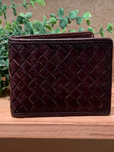 Load image into Gallery viewer, Dark Brown Men's Leather Wallet