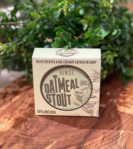Rinse: Oatmeal Stout Soap
