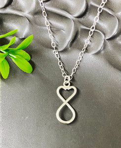 Chad Miller Metalsmith: Heart Swirl Necklace