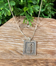 Load image into Gallery viewer, Faith > Fear Pendant Necklace