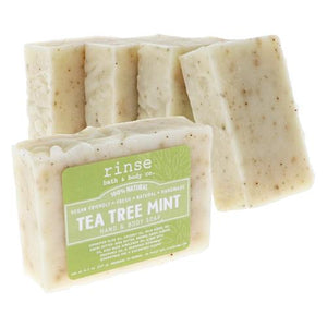 Rinse: Tea Tree Mint Soap