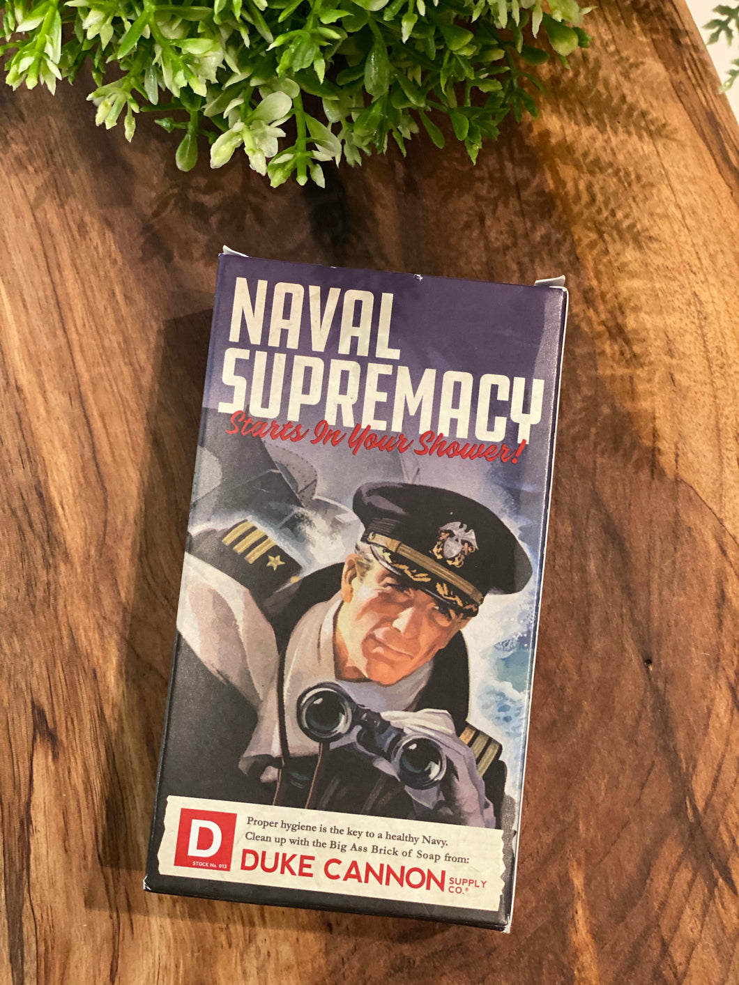 Big Ass Brick of Soap: Naval Supremacy